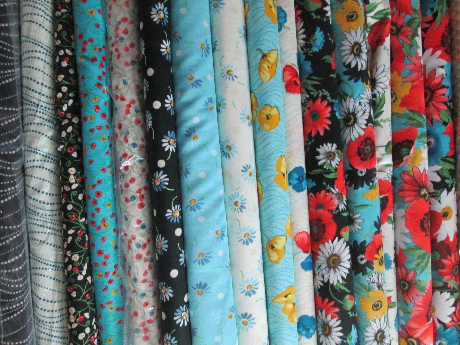 poppy passion fabric collection 100 percent cotton