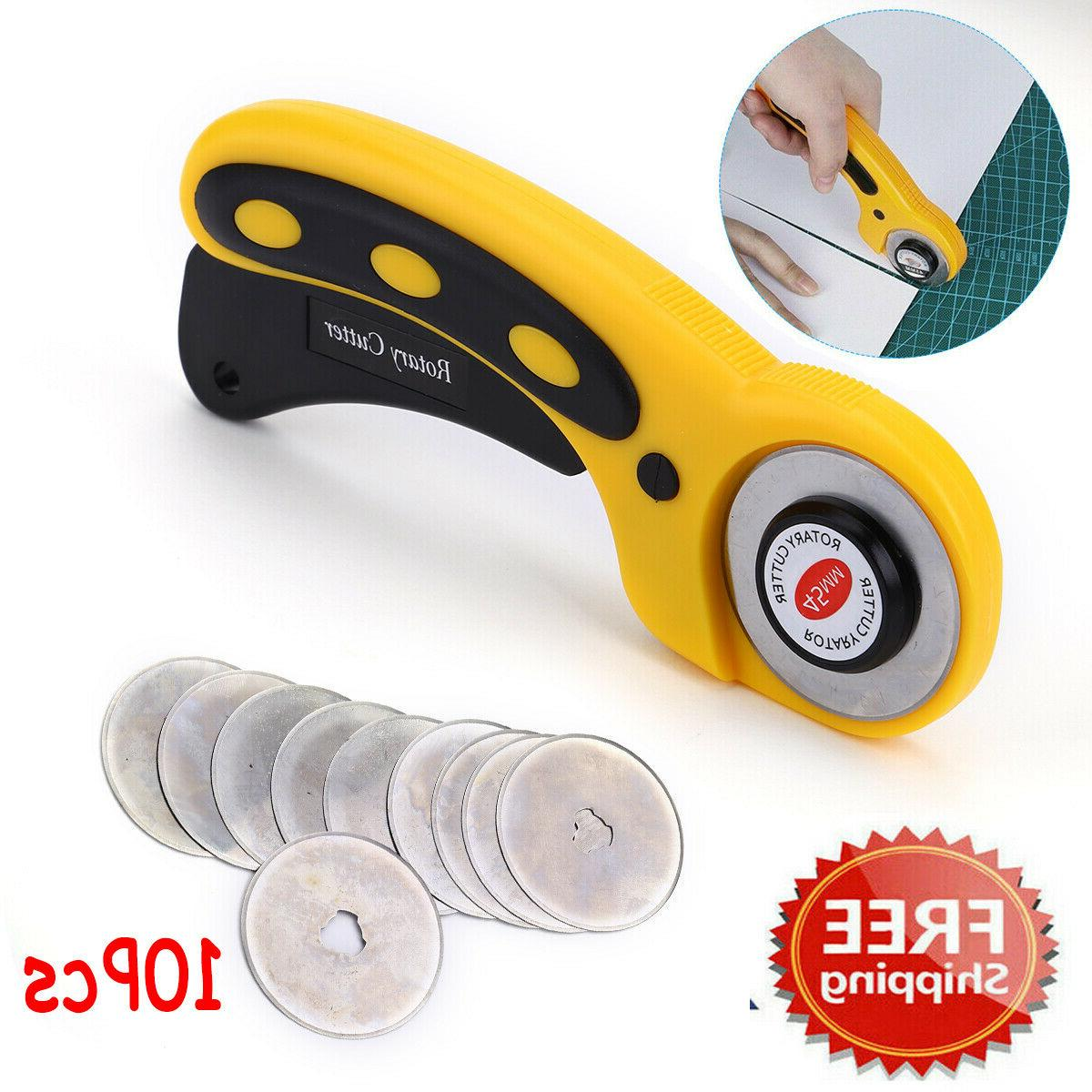 rotary cutter with 45mm blade sewing quilters