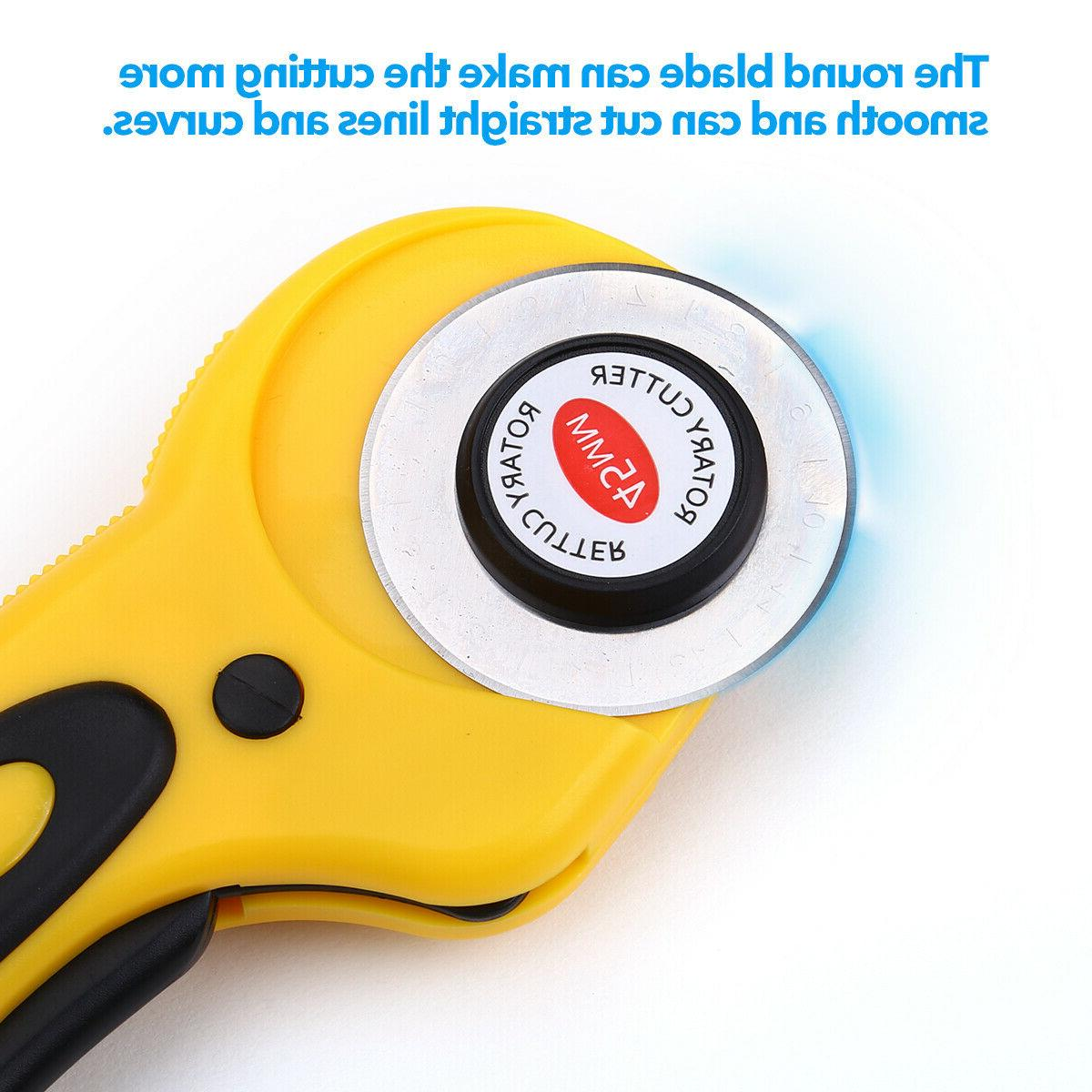 Rotary Cutter With Blade Leather Cutting US