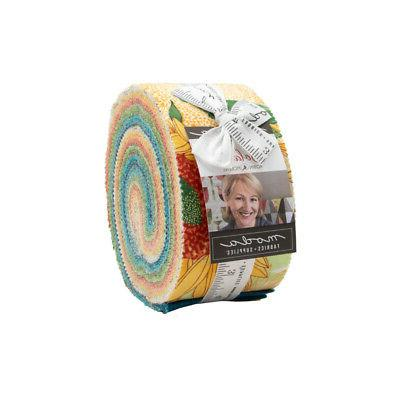 "SOLANA Jelly Roll Fabric for 2.5"" Strips"