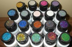 lot of 19 New 2oz Bottles of Fabric Creations Fantasy Glitte