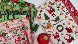 MERRY AND BRIGHT Christmas Fabric Riley Blake Designs ~ 14 f
