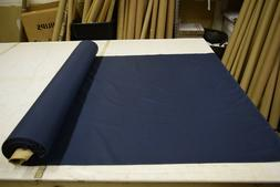 NAVY BLUE COTTON POLY BROADCLOTH 4 OZ FACE MASK APPAREL FABR