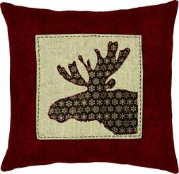 Dimensions Needlecrafts Moose Fabric Applique, 8 by 8-Inch-m