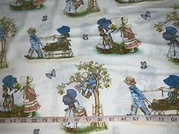 NEW Discontinue Holly Hobbie Scenic 100% Cotton Fabric Sold