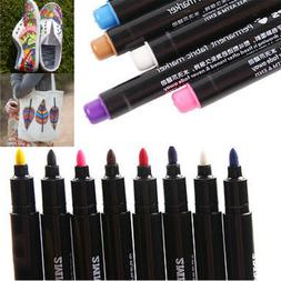 Newly Permanent Fabric Paint Marker T-Shirt Pen For Clothes