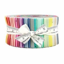 "OMBRE FAIRY DUST Jelly Roll Quilt Fabric for Moda  2.5"" Stri"