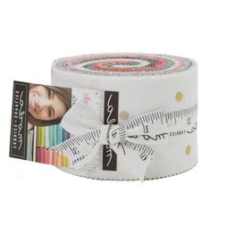 OMBRE NEW CONFETTI METALLIC Jr Jelly Roll Quilt Fabric V & C
