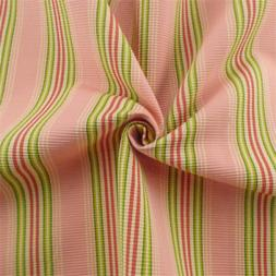 Pink/Multi Ottoman Stripe Home Decorating Fabric, Fabric By