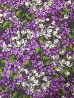 PURPLE VIOLETS FLOWERS SM. WILDFLOWERS FLORAL HOBBY LOBBY CO