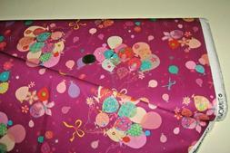 Quilting Treasures quilt fabric Let's Celebrate BUNCH OF BAL