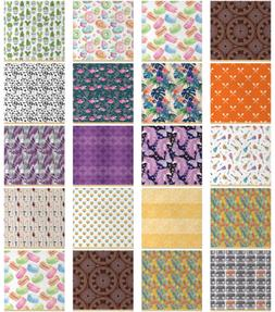 Ambesonne Quilting Sewing Crafting DIY Project Waterproof Fa
