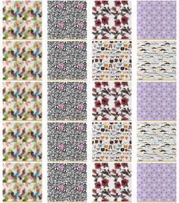 Ambesonne Satin Fabric by the Yard for Arts and Crafts Texti