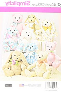 SEWING PATTERN Stuffed Animal Dog Bear Bunny FAST EASY 2  Pi