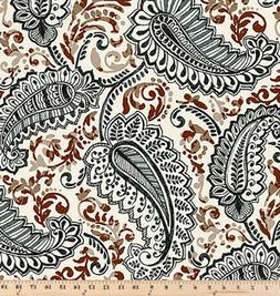 Premier Prints Shannon Caramel Macon | By the Yard | Large P