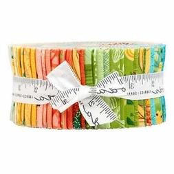 "SOLANA Jelly Roll Quilt Fabric for Moda  2.5"" Strips by Robi"