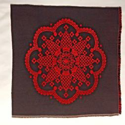 Tapestry Fabric Craft Panel Pillow Top Upholstery Remnant  '