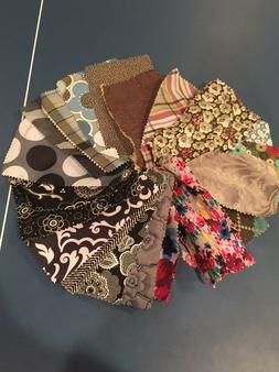 Thirty-One Fabric Swatches Lot Good For Crafting Sewing Dayc