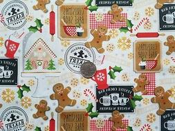 We Whisk You A Merry Christmas Fabric Holiday Kimberbell Pre