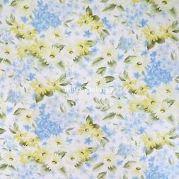 ~Yard~ Cotton Quilting, Sewing Fabric Daisy All Over  Floral